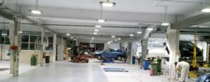 Garasje belysning